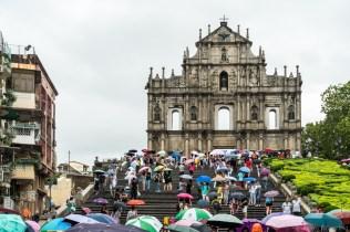Touring in Macau.