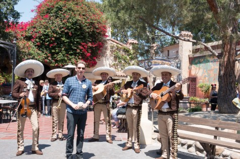 I loved this Mariachi Band at Disneyland! They were too cool.