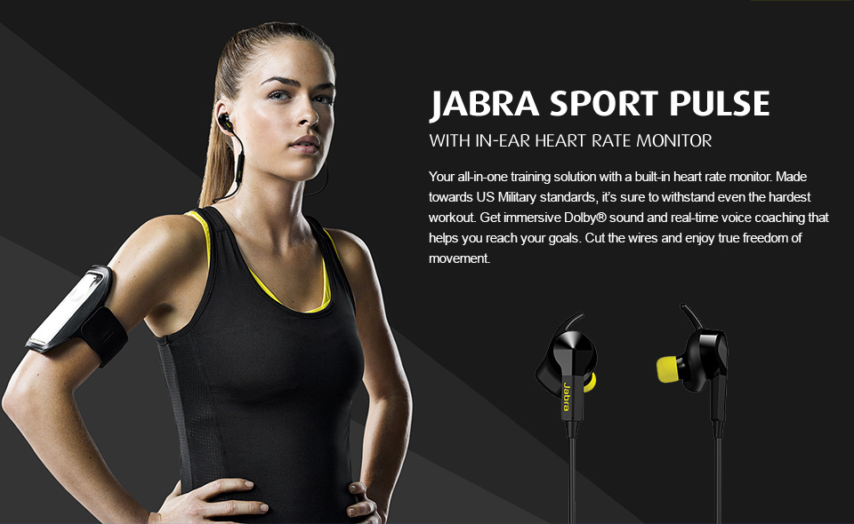 Jabra Sport Pulse Special Edition Bluetooth Headphones Review - Run, Bike, Work, and Talk in Comfort