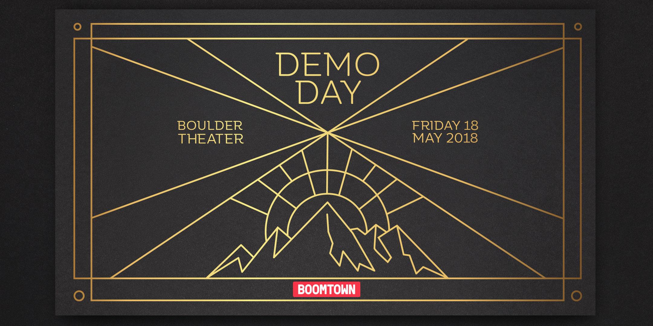 Boomtown Accelerator Demo Day 10 Logo