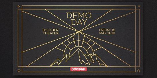 Boomtown Accelerator Demo Day 10 Logo