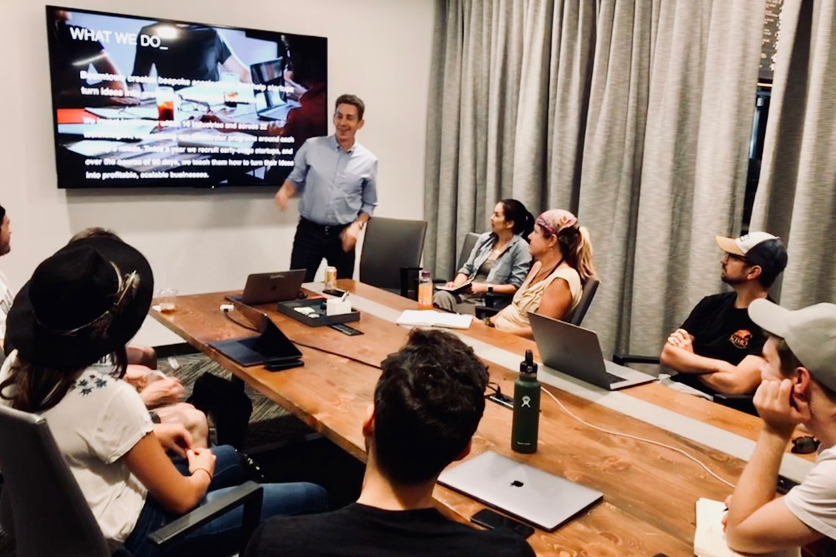Teaching the Galvanize Workshop: What's Next for My Startup?