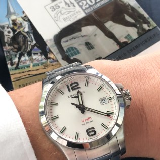 The Longines VHP, ready to hit the track at Churchill Downs
