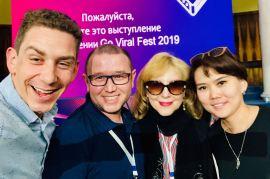 Jeffrey Donenfeld Entrepreneurship Panel GoViral Kazakhstan - 4