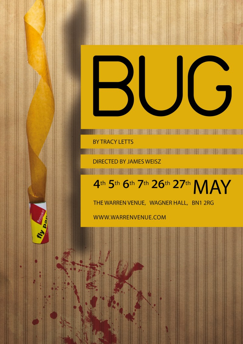 Bug by Tracy Letts - Poster