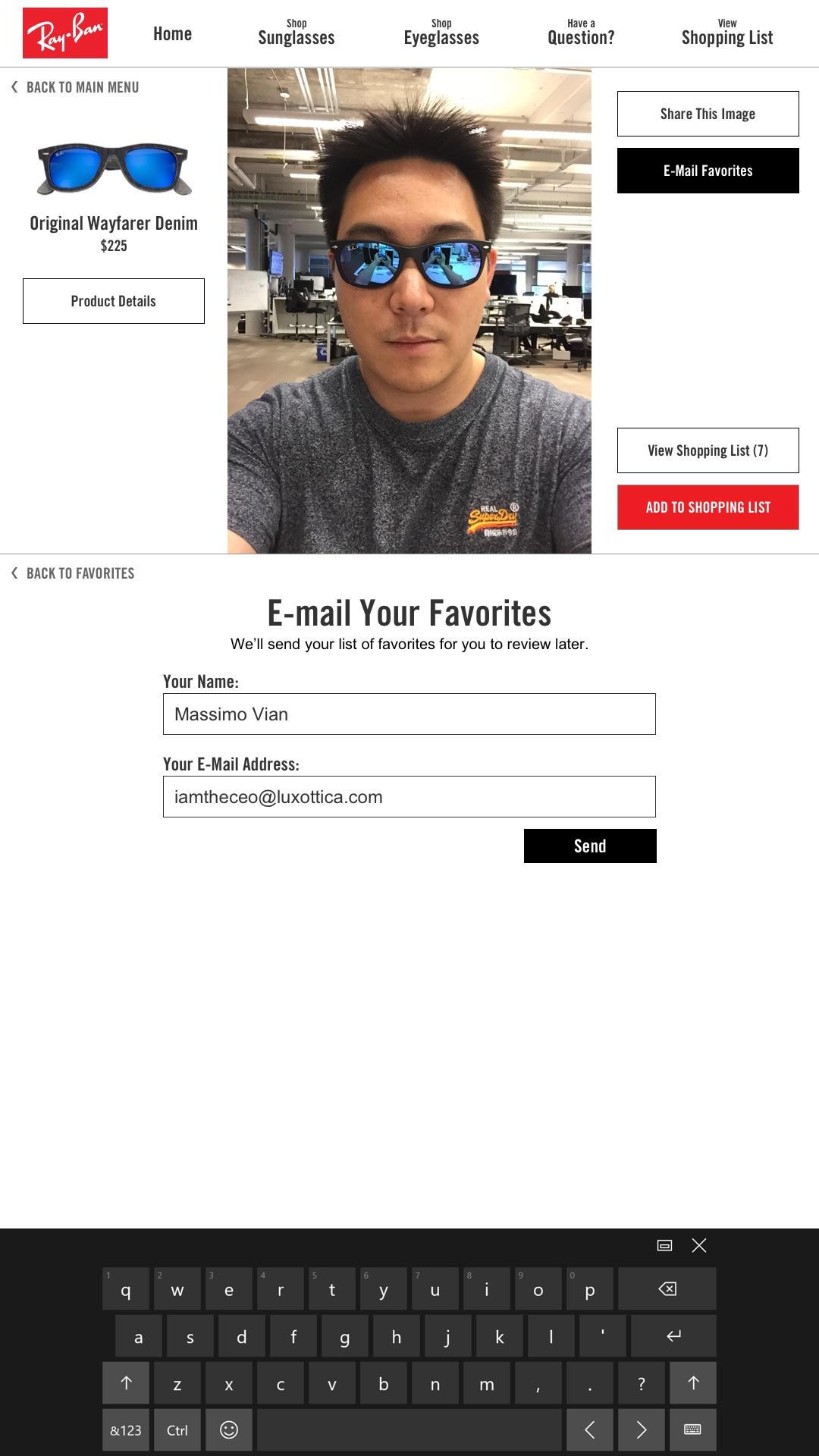 VTO Favorites – E-mail to Self v1 – Filled