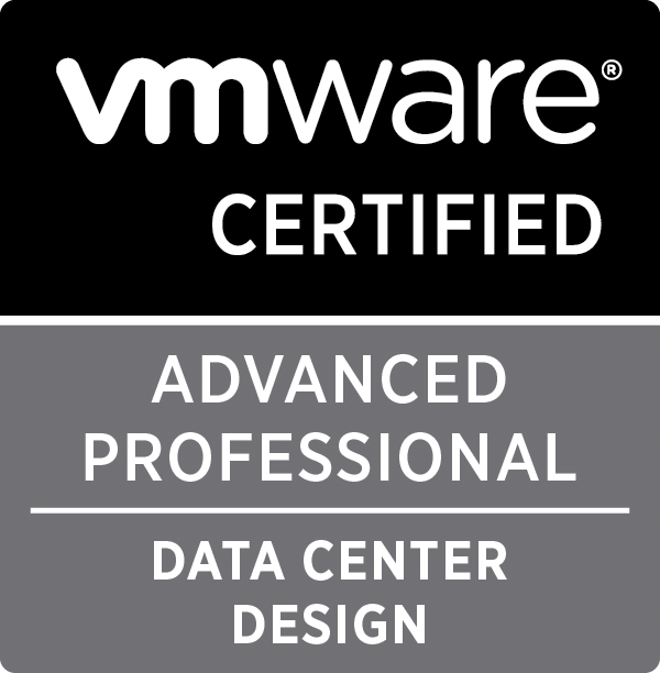 VCAP6.5-DCV Design Exam Guide sanitized reference documents table