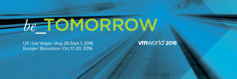 VMworld US 2016 General Sessions major announcements recap