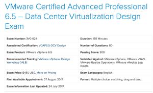 VCAP65-DCV Design