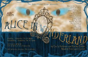 Alice in Wonderland Poster, Arc Stages