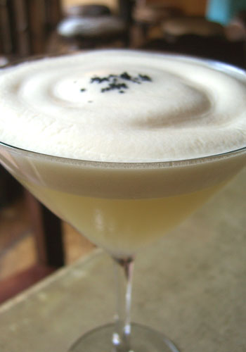 Jeffrey Morgenthaler  Margarita with Cadillac Foam and