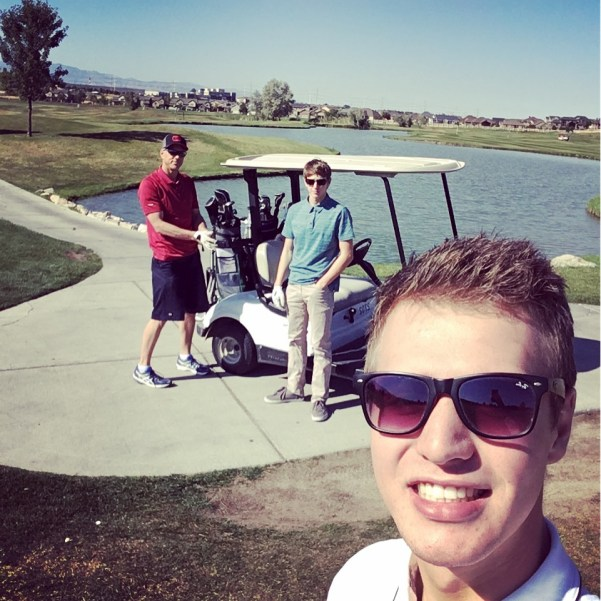 Father & sons golf trip