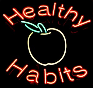 healthy habits produce invisible health