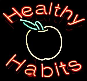 healthy habits produce invisible health