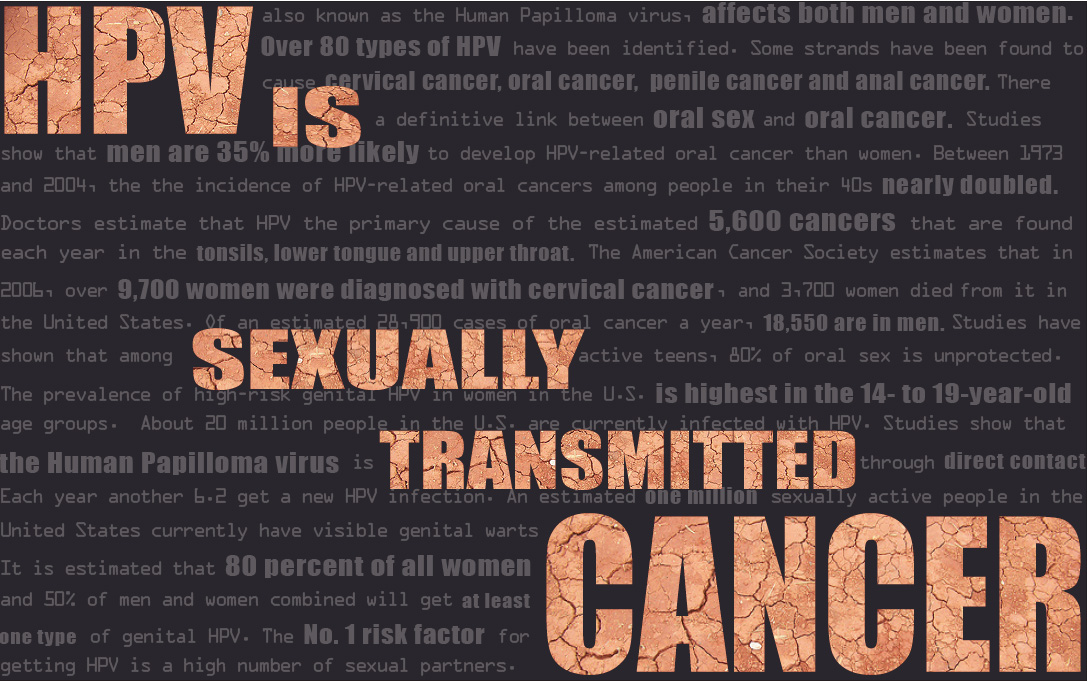 Hpv sexually transmitted cancer