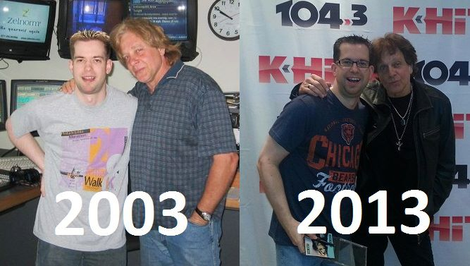 Both Eddie Money and I ad darker hair ten years later. (For different reasons, i assume...)
