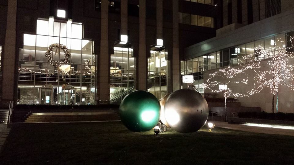 We have the biggest balls at Christmas.