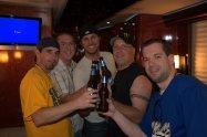 This was before Luke Bryan became a superstar. (Jason Pawlik, Drew Bland, Luke, Charlie Huero and me)