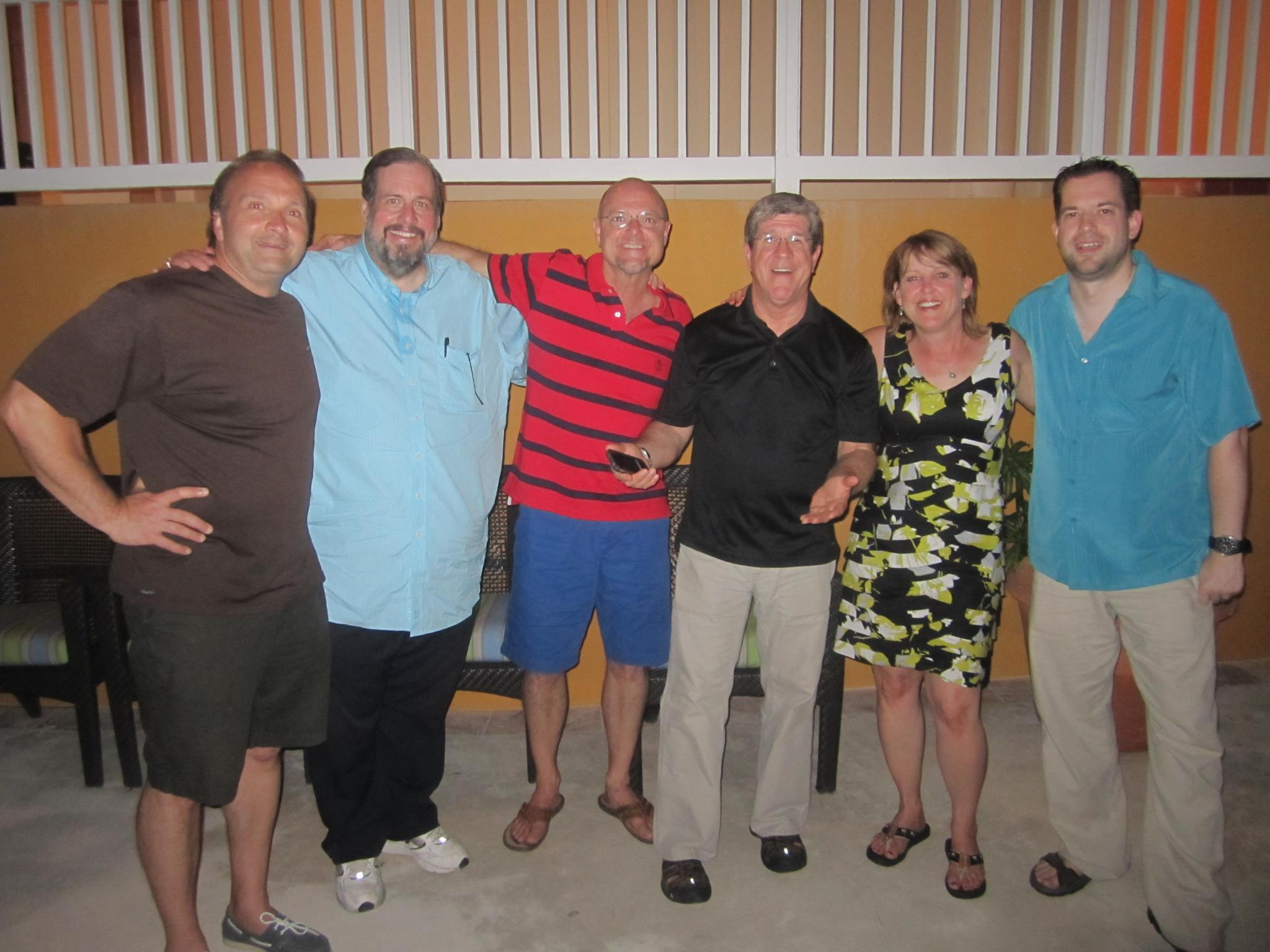 These are some legendary CBS Radio classic hits jocks! (Joe Cortese/WODS, Bob Schumann/WOMC, Bobby Mitchell/WOMC, Broadway Bill Lee/WCBS-FM, Paula Street/WODS & me...not so legendary.