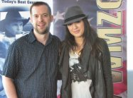 Michelle Branch and her fedora.