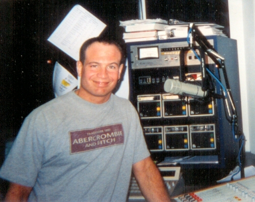 Ahh, my partners-in-crime! Fellow night jock Bob Delmont from Y108. (He's middays at WPOC/Baltimore now.)