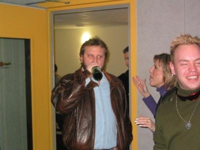 Doug Stieg (with life support)