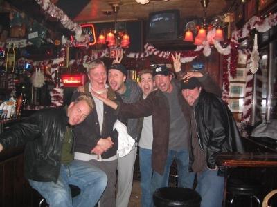 Rick, Chris, Mike Z, Jeffro, Shark & Pat Clark pose for the last time.