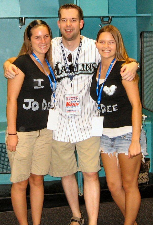 These girls love baseball AND Jo Dee Messina!