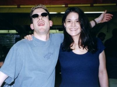 Me & Christina Filliagi, traffic goddess!