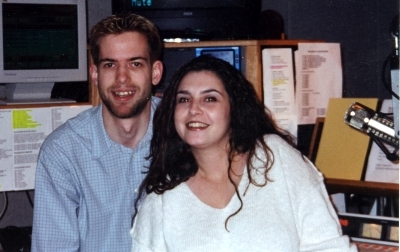 I introduced Guttermouth Gabbie to the world in 2000 on WXXY!