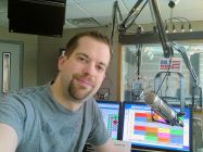 The very LAST picture ever taken at WMZQ. This was my LAST day...and i had no idea at the time!!!