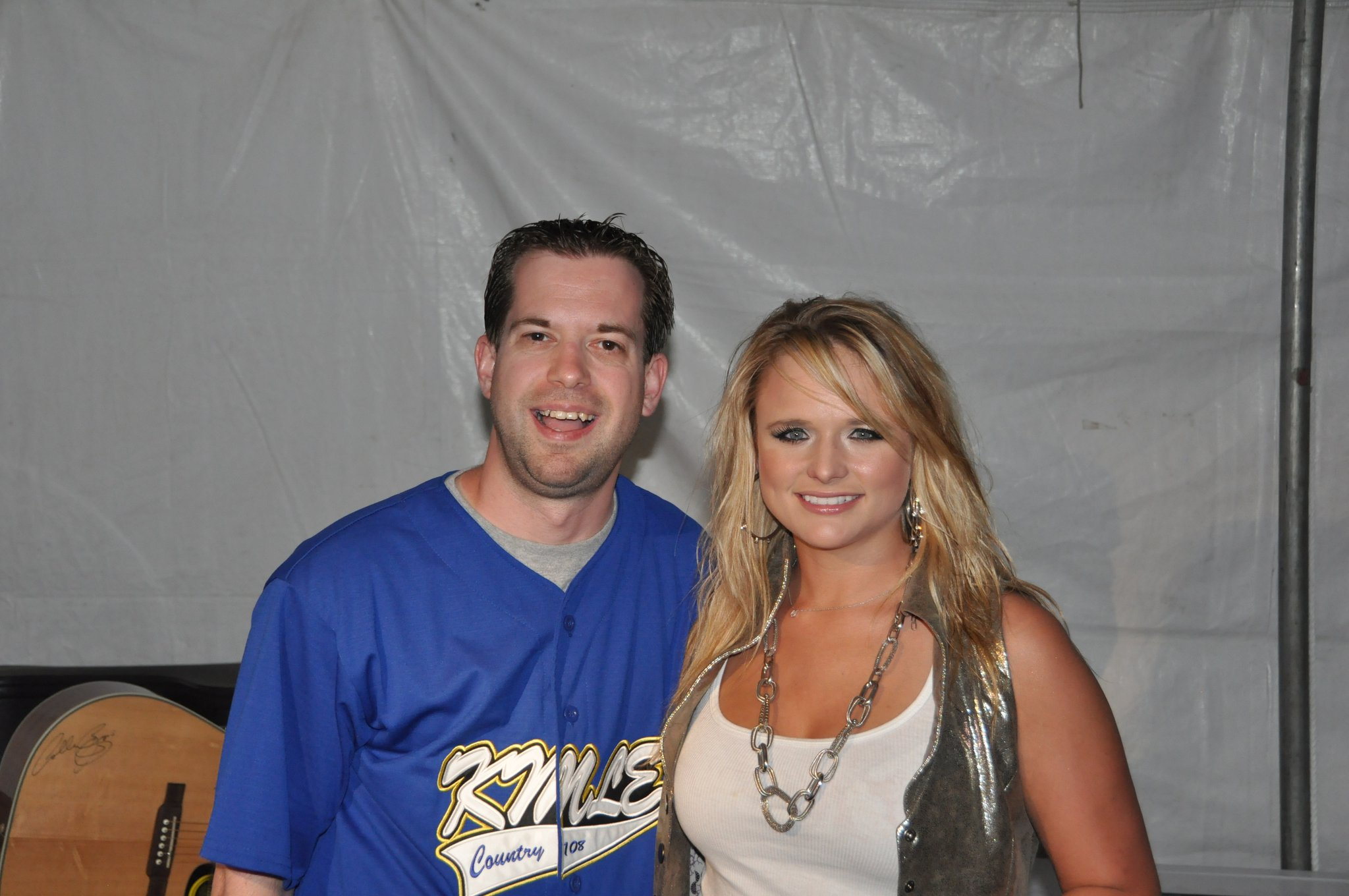 Miranda Lambert was such a sweetheart!