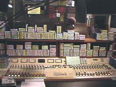 This was Kevin Matthews' studio. He had a LOT of tapes!!!