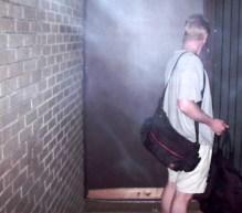 Chris locks the door PERMANENTLY!