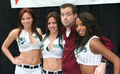 Ahh, those sexy Marlins mermaids! Darryl Hannah, eat your heart out.