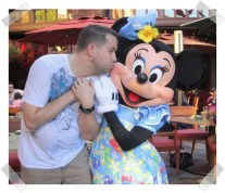 I had a brief affair with Minnie Mouse.
