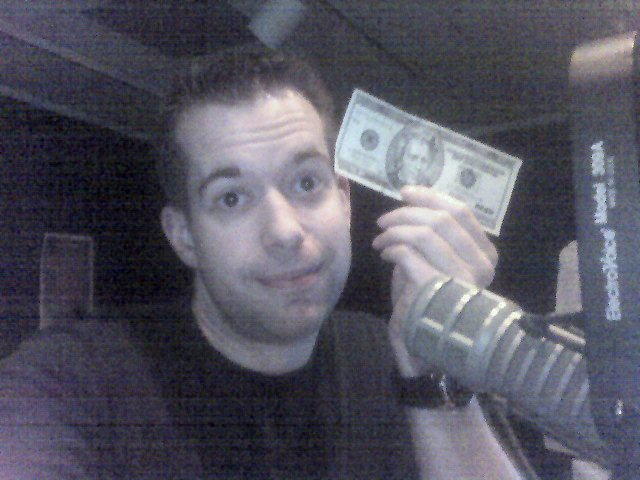 'm in radio. This is all I can afford.