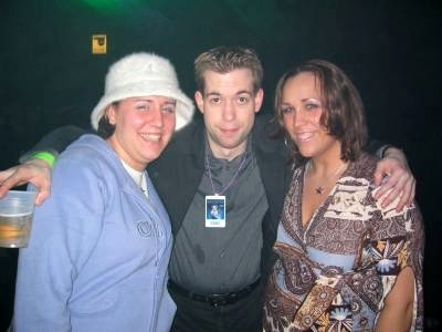 """Another """"Big Bang"""" pic. Jeffro and some listeners."""