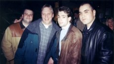Harry Legg, Chris Shebel, me, & Luis Lopez - in the beginning!