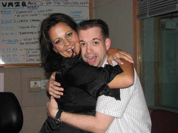 I've never been more blissful than the time I hugged Sara Evans.