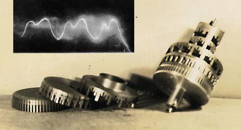 Tonewheels from a Robb Wave Organ