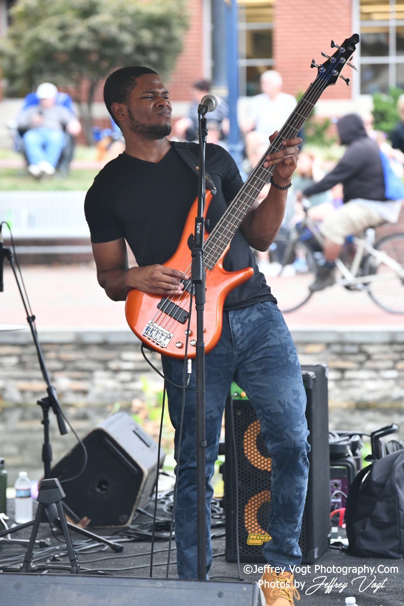 Cameras; Nikon Camera; Nikon 200-400 F4; Nikon D850; Nikon DSLR; Tamron 70-200 F2.8; Tamron 24-75 F2.8; Concerts; Maryland; Frederick Maryland; Frederick; 10/03/2019; Band Photo; Band; Band Photography; Band Photos; Bands; Concert Photo; Concert Photos; Concert Photography; Cover Bands; Cover Songs; DMV Music; DMV Music Photos; DMV Music Photography; Genres; Acoustical; Alternative Rock; Classic Rock; Indie Rock; Pop Rock; Rock; Rock and Roll; Gig Photos; Gig Photography; Gig Photographer; Hayley Fahey Band; Julian Lofton; John Trupp; Hayley Fahey; Jeffrey Vogt; Jeffrey Vogt Photography; Jeffrey Vogt Photos; Photography by Jeffrey Vogt; Photos by Jeffrey Vogt; www.jeffreyvogtphotography.com; Live Music; Live Music Photos; Live Music Photography; Music; Musicians; On Stage; Venues; Downtown Frederick Partnership; Alive at Five; Carroll Creek Amphitheater;