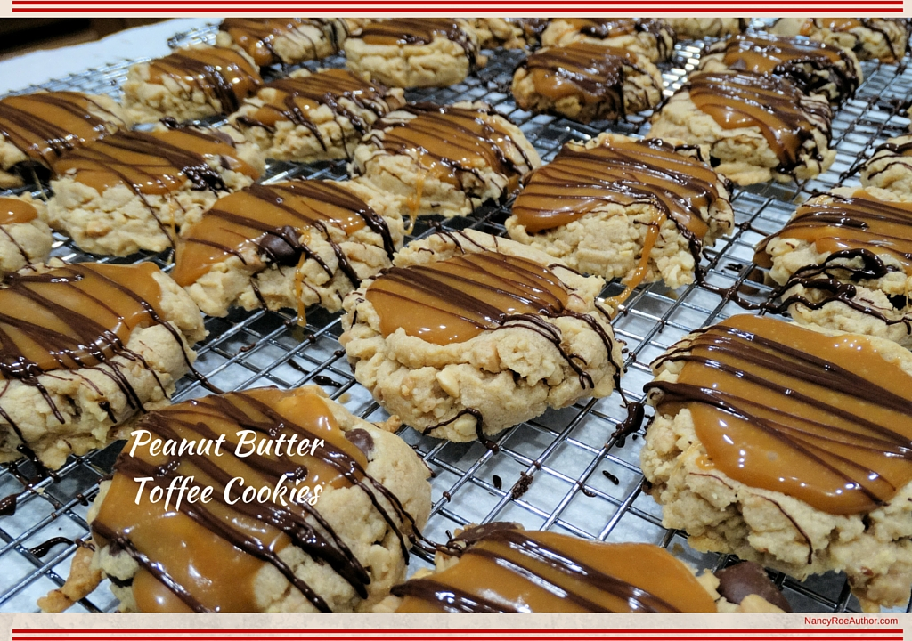 Peanut Butter Toffee Cookies