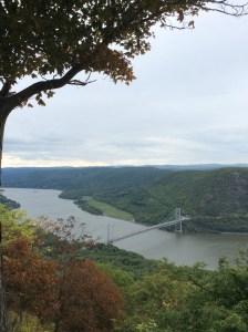 Bear Mountain Bridge over the Hudson River, New York