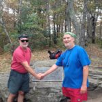 Photo of the southern terminus of the Appalachian Trail, the summit of Springer Mountain, Georgia. ©2017 JeffRyanAuthor.com