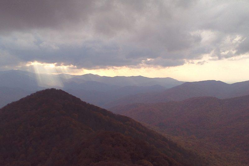 Photo of Smokey Mountains ©2017JeffRyanAuthor.com