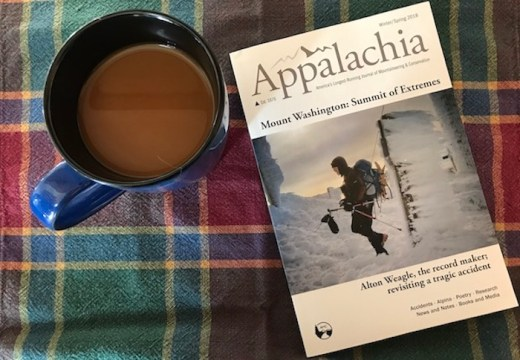 Photo of Appalachia Journal Winter/Spring 2018 cover