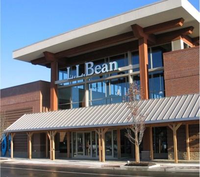 Photo of LL Bean store. ©L.L. Bean, Inc.