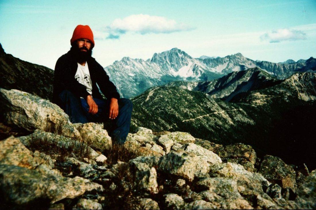 Photo of Jeffrey Ryan on PCT 1983. ©2018 www.JeffRyanAuthor.com