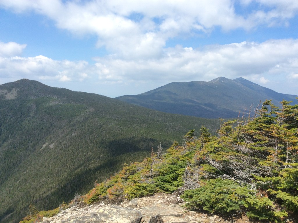 Photo of Franconia Ridge, New Hampshire. ©2019 www.JeffRyanAuthor.com.